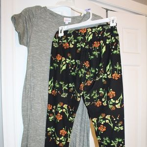 Lularoe Carly & Leggings